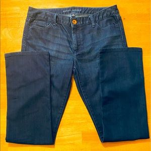Banana Republic Petite blue jeans.Nice condition.